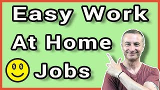 7 Easy Work At Home Jobs You Can Start Today Without Experience (2019)