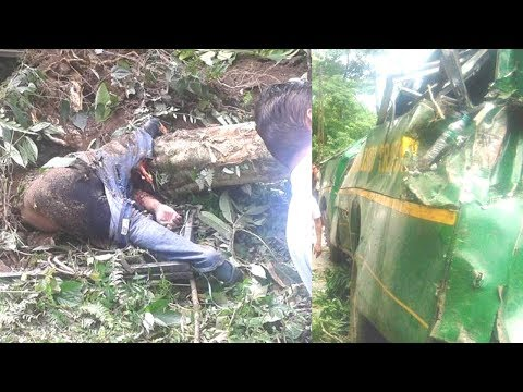 Minister Incharge For Transport Department Of Sikkimsnt Bus Accident Near Mangan
