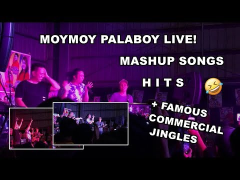 Funny Moymoy Palaboy Mashup Songs (Nadarang, Bboom Bboom, etc.) + Famous Commercial Jingles