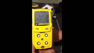 Detector de gases Gas Alert Max XTII Bw Technologies by Honeywell