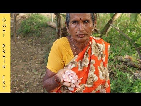 BHEJA FRY | GOAT BRAIN FRY | Cooking Goat Brain Fry by My Grandma