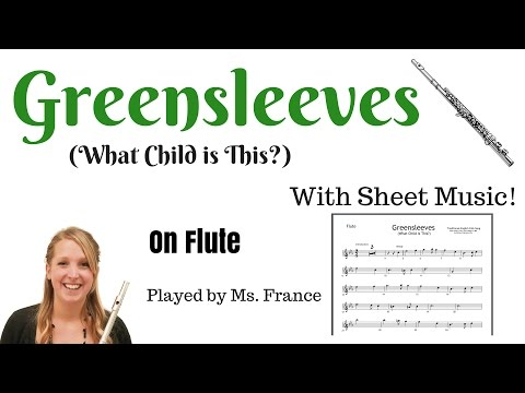 Greensleeves (What Child is This?) Flute Cover