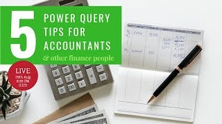 Power Query for Accountants & Finance People