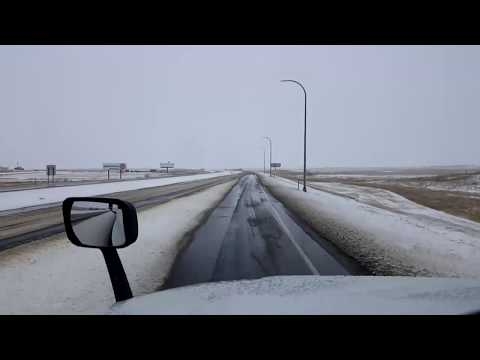 BigRigTravels LIVE! Beach to Mandan, North Dakota Interstate 94 East-April 13, 2018