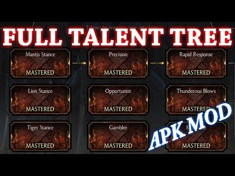 Mortal Kombat X 1.21.0 - Full Talent Tree Mod APK - No ...