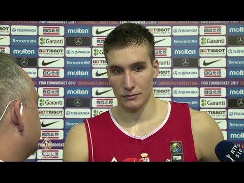 Bogdan Bogdanović nakon plasmana Srbije u finale Eurobasketa