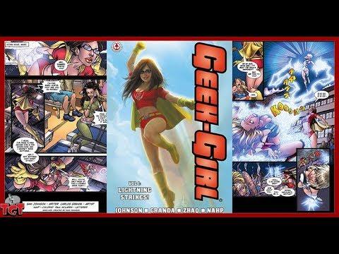 Sam Johnson creator Geek-Girl!