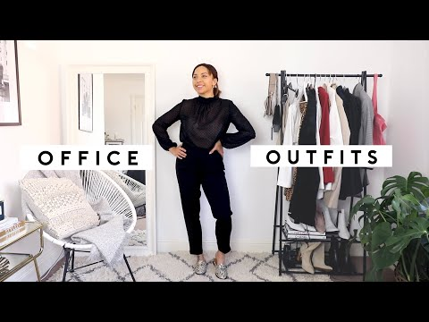 10 OFFICE OUTFITS | Samantha Maria