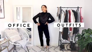 Speedy styling of 10 different workwear/office outfits, which is yo...