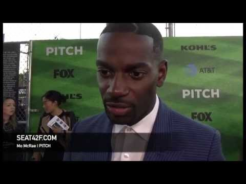 Mo McRae PITCH Red Carpet