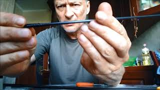 Быстрый ремонт колен удилища.Fishing Rod Repair.ロッド修理