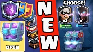 5,684 CARDS! DRAFT CHEST Openings - ALL NEW Leagues! Clash Royale Update 2017