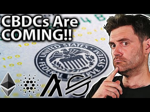 CBDCs Are COMING!! Could Other Cryptos Benefit?! 🤔