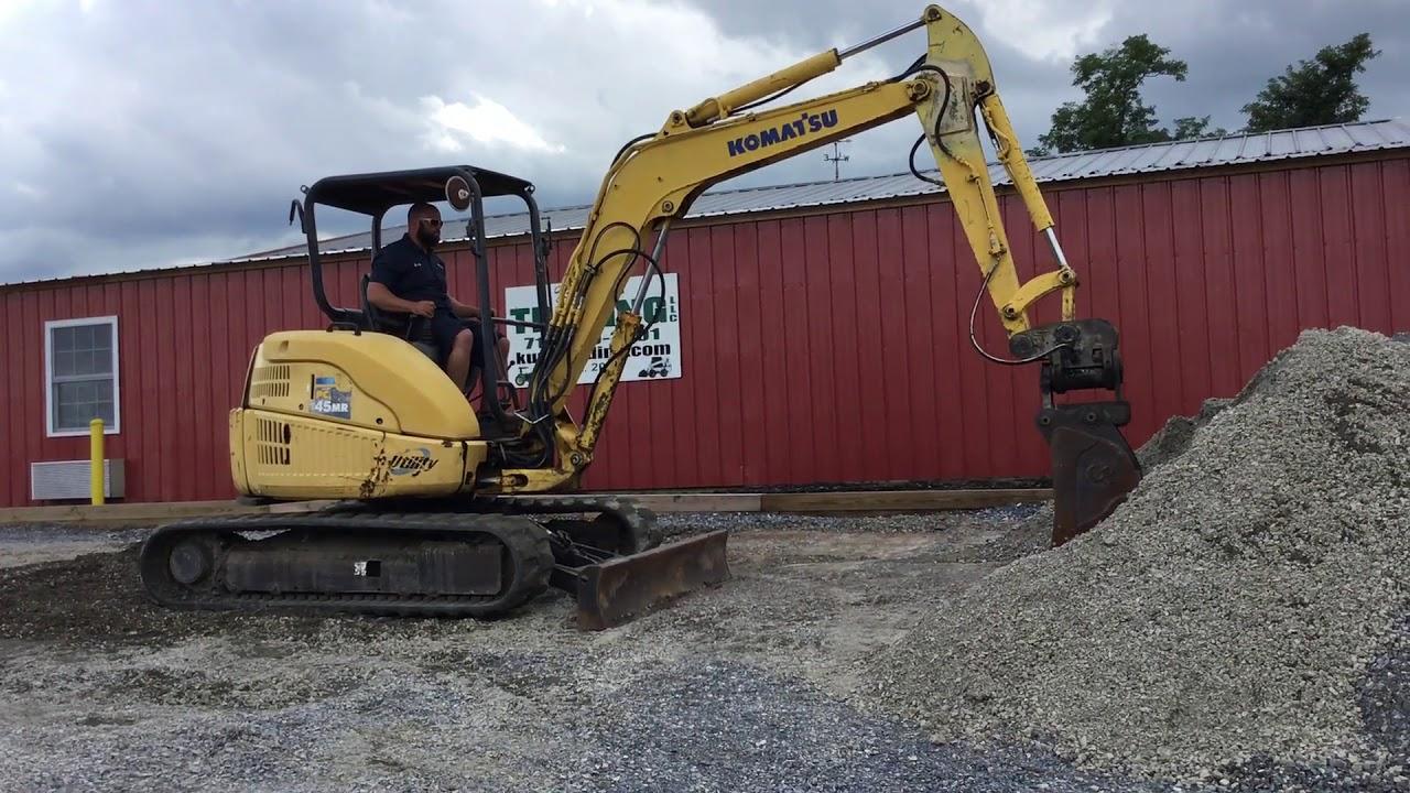 Used komatsu pc55 excavator for sale,komatsu pc55 pc45 excavators.