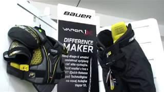 Kvalitná hokejová výstroj, korčule, hokejky - Bauer, Fischer, Hejduk, Sherwood - SPAIZ Bardejov