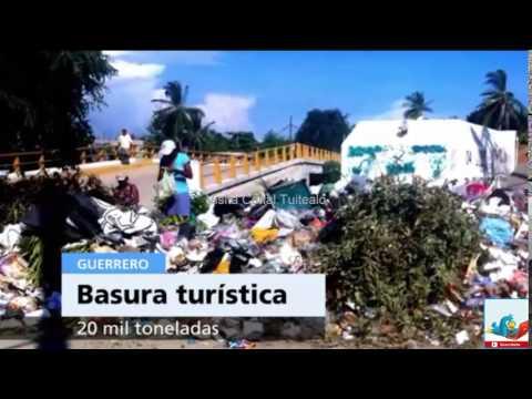 Turistas dejan más de 20 mil toneladas de basura en Acapulco Video