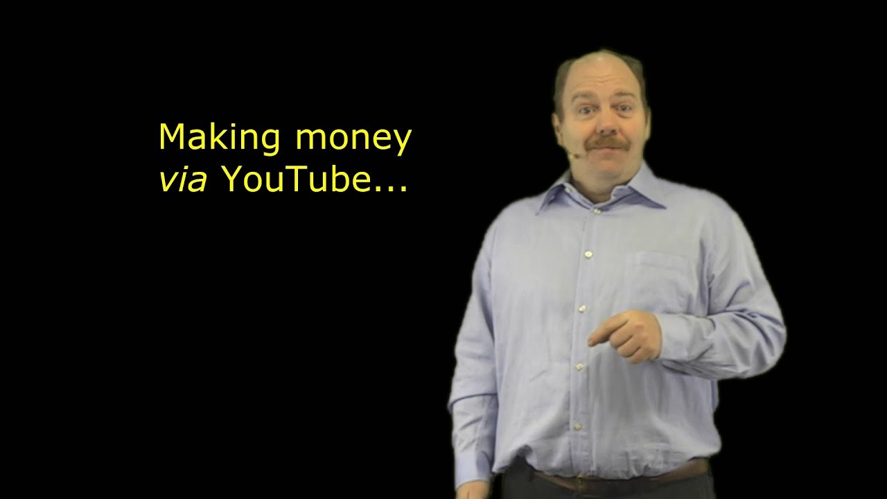 Making money VIA YouTube - 3 of 6 points from The Vagabond's Guide by wazooloo