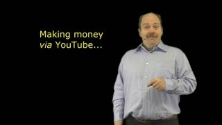 Making money VIA YouTube - 3 of 6 points from The Vagabond