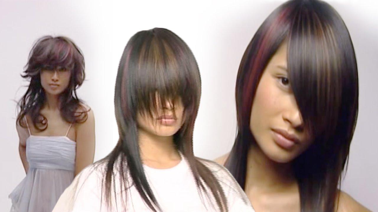 Corte extension en pelo largo