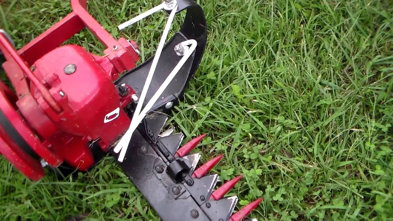 IH 1300 mower description