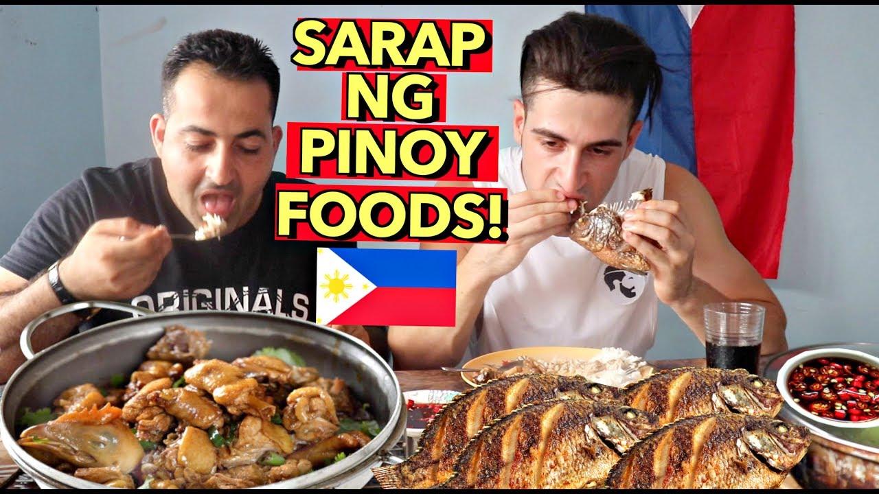 cooking-pang-mayaman-style-filipino-adobo-crispy-tilapia-masarap