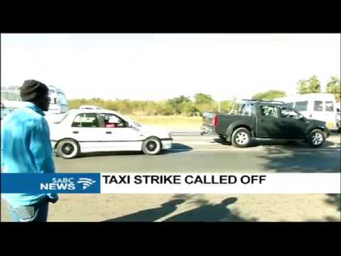 DISCUSSION: SANTACO taxi strike temporarily called off