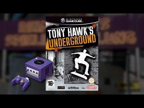 Gameplay : Tony Hawks Underground [GameCube]
