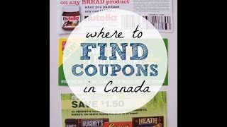 "Where To Find ""Canadian"" Mailed + Printable Coupons in Canada"