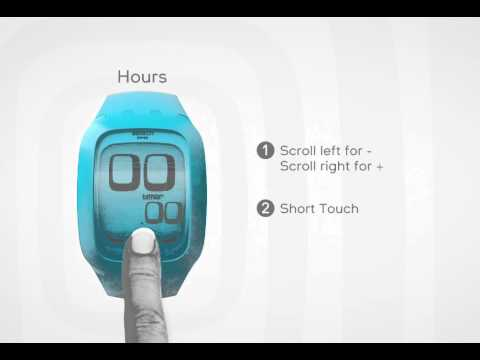 Swatch Touch: User Manual Timer Function