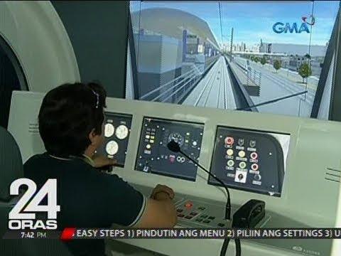 Kauna-unahang train driving simulator units, magagamit na sa pagsasanay sa pagmamaneho ng LRT-2