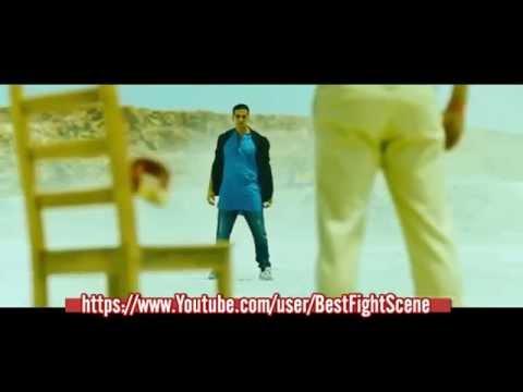 Akshay Kumar Boss Desert Fight Scene