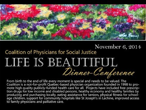 Euthanasia: Life is Beautiful Conference Series by @CoalitionMD