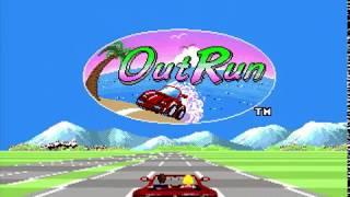 OutRun (Genesis) speedrun in 4'55