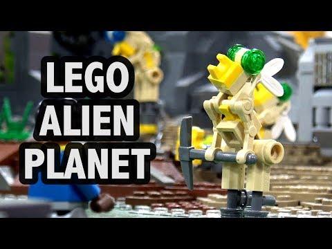 LEGO Alien Slave Mining Colony   Philly Brick Fest 2018