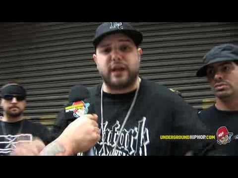 Necro - Interview Pt. 4 (Live On The Streets - New York, NY - 6/4/08)