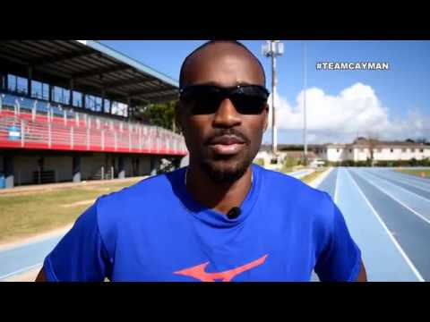 Kemar Hyman: Team Cayman profile XXI Commonwealth Games