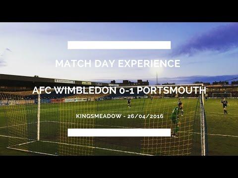 Groundhop at Kingsmeadow - AFC Wimbledon vs. Portsmouth