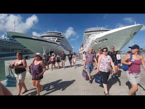 MSC Seaside excursion Antigua, Snorkelling, Kayaking & Power Boats from MSC Divina 2017