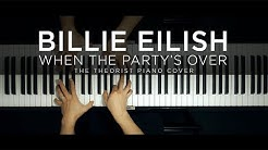 Billie Eilish - when the party's over | The Theorist Piano Cover