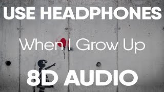 NF - When I Grow Up (8D AUDIO)
