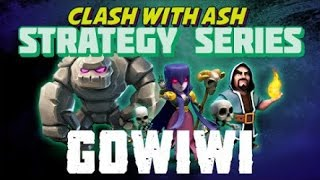 Clash of Clans Th9 vs Th9 War Replay Attack GoWiWi Standart spell