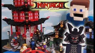 LEGO Ninjago Movie Stop motion Sets Temple of Airjitzu Unboxing Trailer full episode 70751 Minecraft