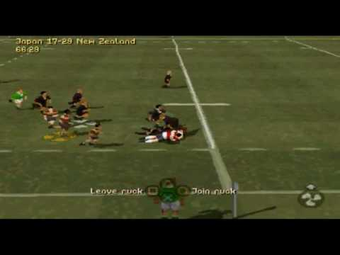 Jonah Lomu Rugby - Classic Match 8 - Japan v New Zealand 1995 Rugby World Cup