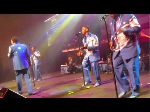 The Spinners at the Maryland Inauguration Ball 01/20/13 - YouTube