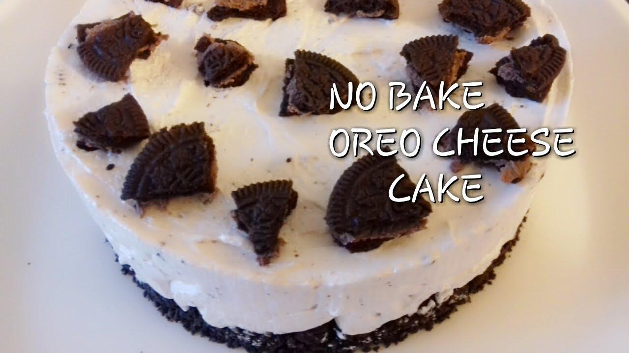 Cake Recipes In Malayalam Video: No Bake Oreo Cheese Cake Recipe Recipe In Malayalam