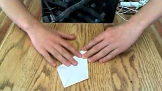 How to make a paper Kunai Knife