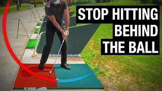 How To Stop Hitting Behind The Golf Ball (SIMPLE FIX!)