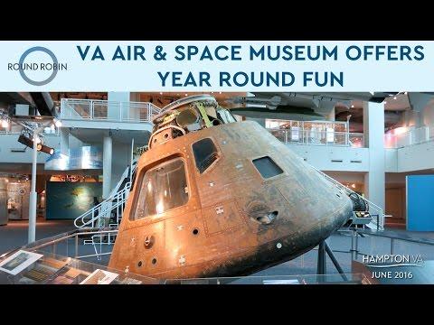 Experience the year-round fun at Hampton's Virginia Air & Space Center