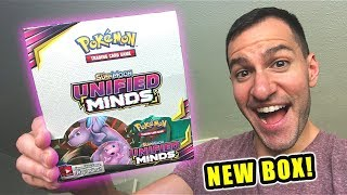 *NEW POKEMON CARDS UNIFIED MINDS BOX!* Opening POKEMON BOOSTER BOX With ULTRA RARE CARDS Inside!