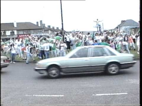 Walkinstown roundabout 1990 Ireland V Romania